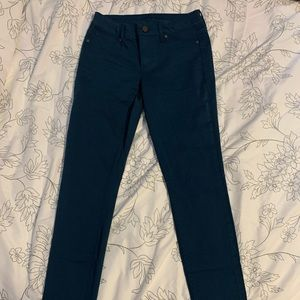 Women's Teal Skinny Pants